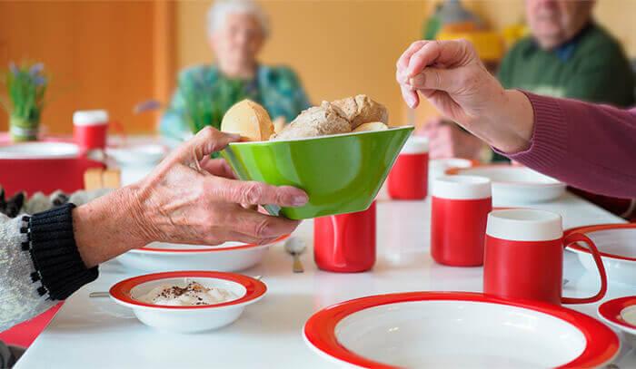 Ornamin Alltagsgeschirr für die Pflege