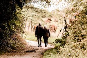 Gehhilfen für Senioren